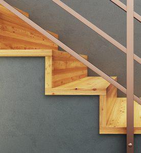 Treppen auf Beton